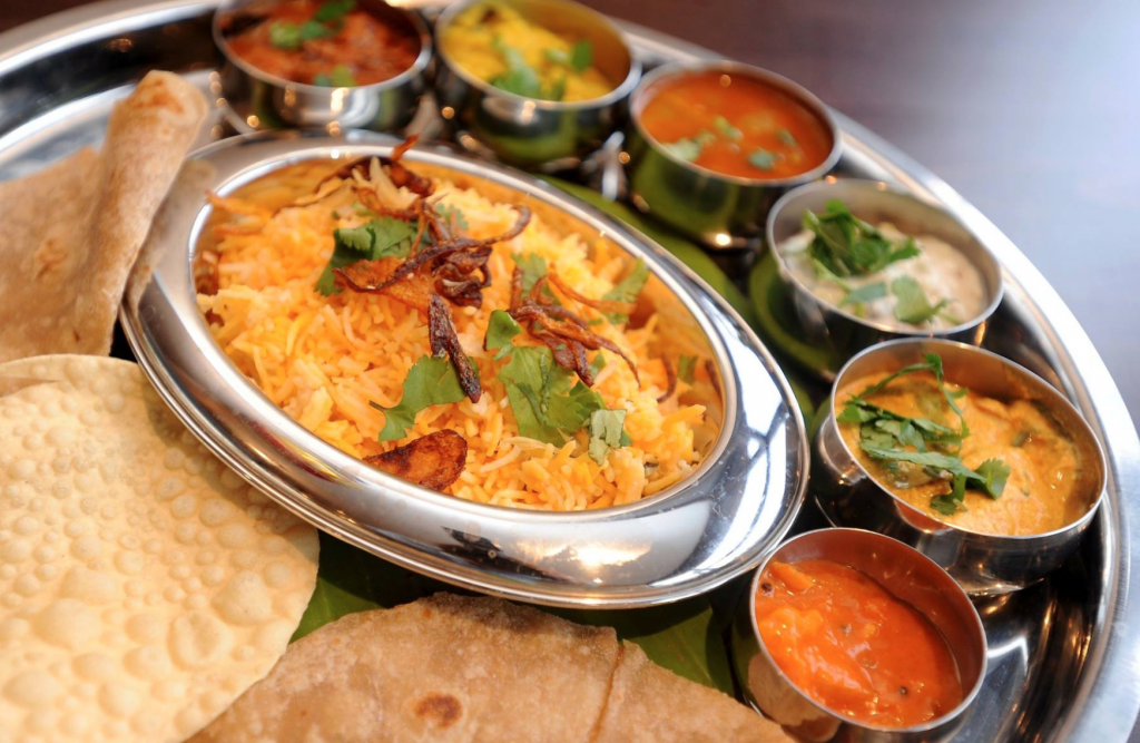 Foods served at the best Indian restaurants